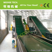 Plastic Recycling Machine Bottle Film Crusher