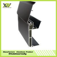 Design weight of aluminum light box section profile