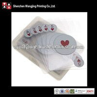 plastic playing cards printing 0.3mm 100% pvc playing cards for sale