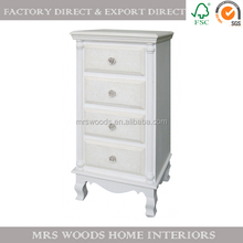 french wooden bed side cabinets