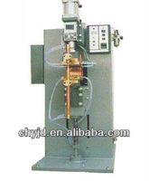 Pneumatic type exchange pulse point welding machine