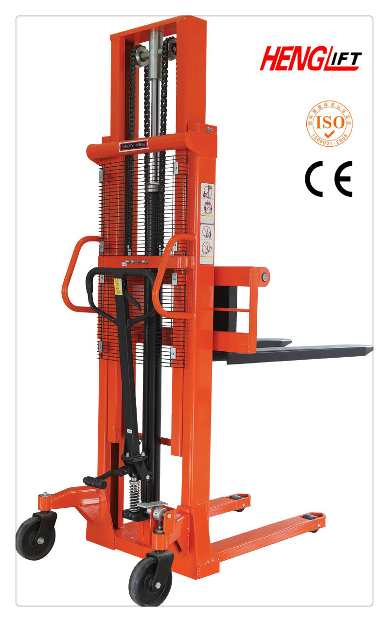 Capacity1000kg Lifting Height 2000mm High Quality Hand Manual Hyster 45 Forklift Wiring Diagram Semi Electric Stacker