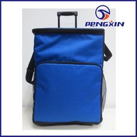 2015 cooler bag for wine insulated cooler bag with wheels