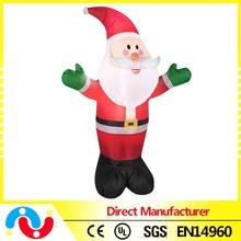 Wholesale new design Inflatable Santa Christmas decoration for sale