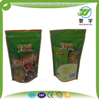 Most popular products whey protein zipper stand up pouch for food packaging