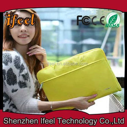 Latest Fashion Nylon Unisex Notebook Laptop Computer Shoulder Bag For Ipad for macbook