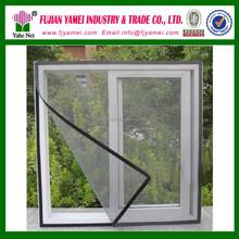 Window mesh screen shower curtain
