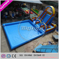 2015 Lilytoys commercial giant inflatable water slide, giant inflatable swimming pool, inflatable pool