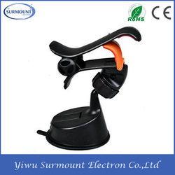 360 degree rotating Car Cell Phone holder Universal car clip holder for mobile phone