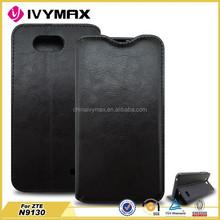 Wallet PU leather case for ZTE N9130 best flip case