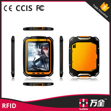 Rugged NFC/RFID Tablet for People Identity Checking