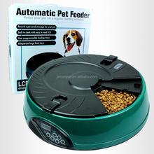 Economical 6 meal pet auto feeder, Pet Cat Puppy Animal Food dispenser Supplies