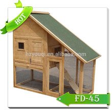 wooden hutch rabbit cage 3 story rabbit house hot sales