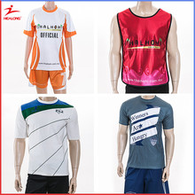 Cheap custom sublimated soccer shirt,soccer uniform ,full dye sublimation football shirt maker soccer jerseys in thailand