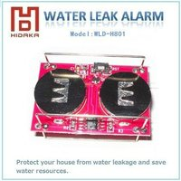 water leak alarm with mini size electronic security system