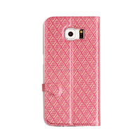 [Somostel] mobile flip leather cover for samsung galaxy s6 edge case