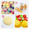 Top quality edible beef gelatin used for dessert yogurt, jelly candy