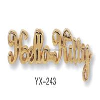 custom metal brand logo for handbag sunglasses custom metal logo