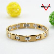 2015 gold plated good health bracelet