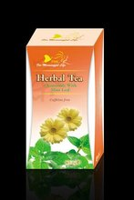 natural herbal tea - chamomile & mint