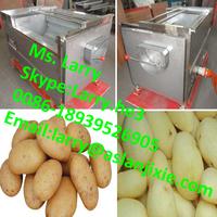 irish potato peeling machine/cassava washing machine/fruit and vegetable peeling machine