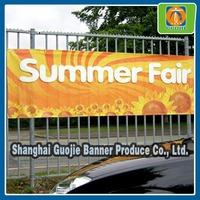 digital printing advertising banner , outdoor fence banner