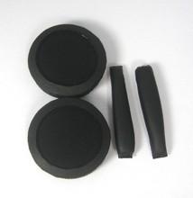 siyah kulakları pedleri bandı yastıkları Sennheiser px100 px200 kulaklıklar