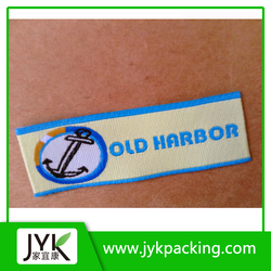 Customized Garment labels, satin size labels, brand labels for clothing