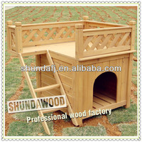 SDD01 Wholesale Wooden outdoor cat house