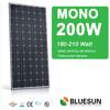Top and Best mono solar panel 200w, mono 200w 24v solar panel