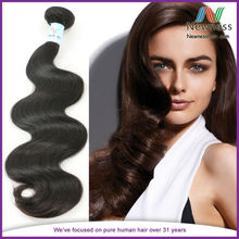 Brazil has a feminine body wave human hair wholesale fast delivery speed can