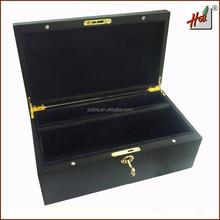 Custom design wooden tea chest with lid HCGB8091