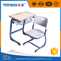 Tengya New Enviromental PP School Sets Classroom Furniture Student Desk and Chair