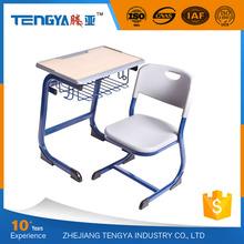 Tengya New Enviromental PP School Sets Classroom Furniture Student Desk and Chair