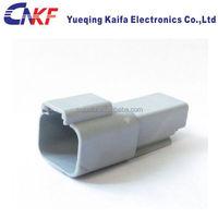 Deutsch DT series 1.6mm pitch plug 2 position male waterproof automotive socket/electric wire connector DT04-2P