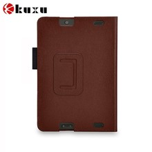 High class leather PU tablet case for fire HD 7 manufacturer