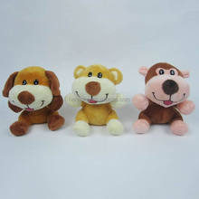 13cm normal animal plush toys cute dog stuffed toys