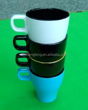 2015ขายร้อนถ้วยกาแฟเมลามีนที่มีการจัดการ