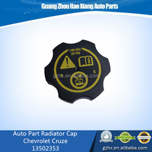 Alibaba supplier Chevrolet Cruze car parts No.13502353 cooling system Radiator cap Auto/Car Accessories
