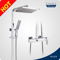 Quality OEM Surface mounted fancy shower faucet