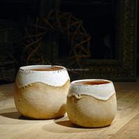 Italian garden rectangular ceramic pottery