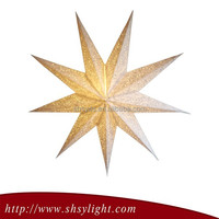 2015 hot sale new style Battery Operated Christmas Star