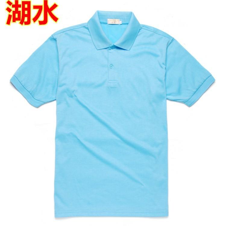 Wt209 Summer Short Sleeve Polo Shirt Design Blank Custom T