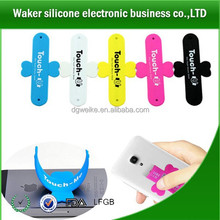 Funny Silicone mobile phone holder/Silicone cell phone stand/silicone holder stand phone cable band table holder