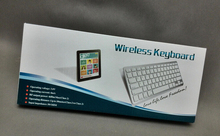 Mini Rechargable Super Silm Wireless Bluetooth 3.0 Wireless Keyboard For ipad