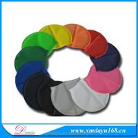 High quality adults silicone printed swim cap