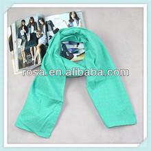 puro de la moda de algodón de color ro2546 bufanda