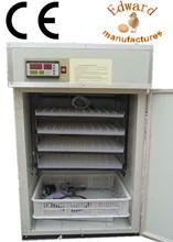 CE aprobó completamente automático con termostato para incubadora de huevos de alta calidad para las escotillas para la venta