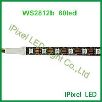 60LEDS/m flexible WS2812B rgb led strip color changing CE RoHS