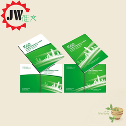 High quality cheap price full color printed adhesive flyer